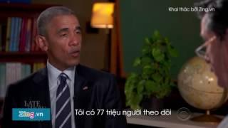 Obama tập dượt phỏng vấn xin việc sau khi rời Nhà Trắng