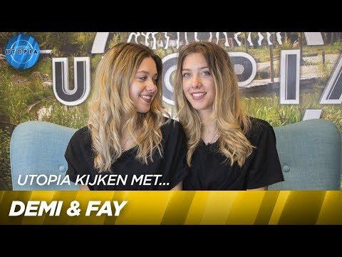 Utopia kijken met Demi & Fay! | UTOPIA
