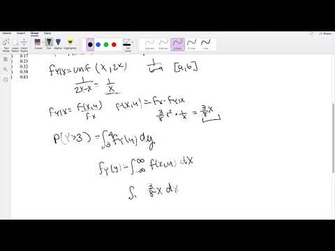 SOA Exam P Question 120   Joint Probability Distribution - YouTube