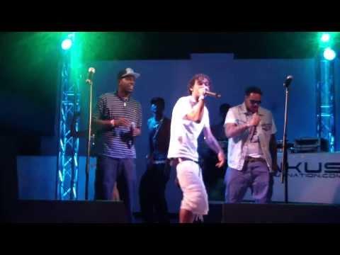 T.B at The Club Rawkus show