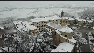 Morro d'Alba – Nevicata del 12/02/2021