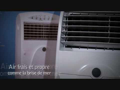 Démonstration vidéo du rafraichisseur d'air Rafy 90 par La boutique de l'air.