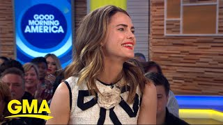 Keri Russell says upcoming 'Star Wars' role makes her 'cool' to her kids | GMA
