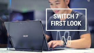 Acer Switch 7 First Look: Fanless 2-in-1 with graphics card