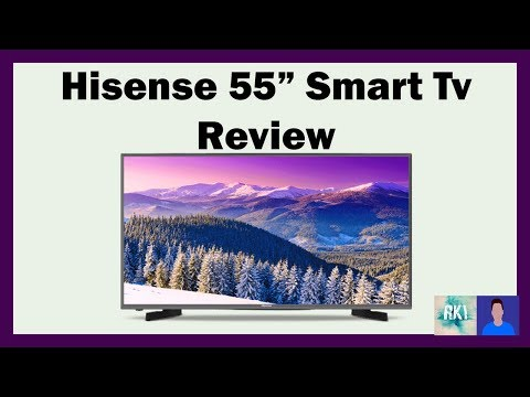 55″ Hisense Smart Tv review, 55N4 Meh…