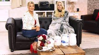 Anne-Kathrin Kosch trinkt zum Aufwärmen am liebsten Tee! bei PEARL TV (März 2019) 4K UHD