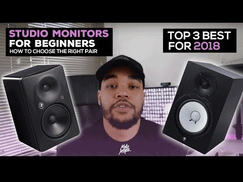 Top 3: Best Beginner Studio Monitors - Watch This Before You Buy!