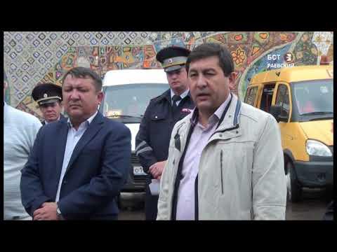 Проверка технического состояния школьных автобусов в Альшеевском районе