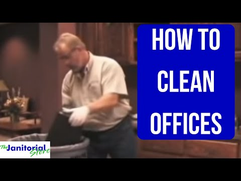 Office Cleaning Training Video - YouTube