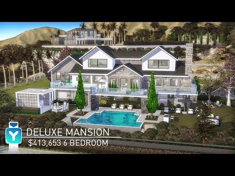 The Sims 4 Get Famous Celebrity House Build | Celebrity Mansion