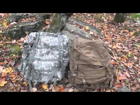 ACU MOLLE II and FILBE Rucksack – Comparison – The Outdoor Gear Review