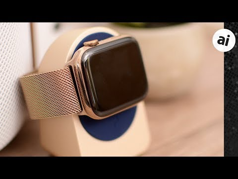 Hands on with Apple's ornate gold Milanese loop for the