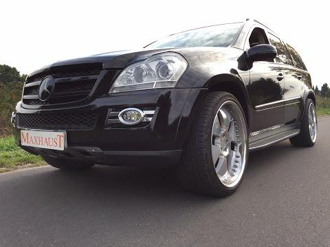 Mercedes GL 164 450CDI - Nachrüstung Maxhaust Active Sound