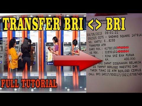 Cara Transfer Bank BRI ke BRI Lewat ATM