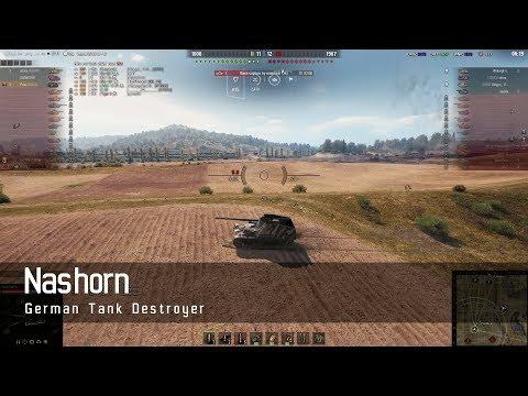 World of Tanks - German Tech Tree - Tank destroyer – Nashorn – Prokhorovka