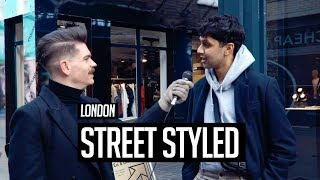 Street Styled | Mens Hair And Style In London | Winter 2018