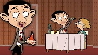 Mr Bean Dinner Party | Funny Episodes | Mr Bean Cartoon World
