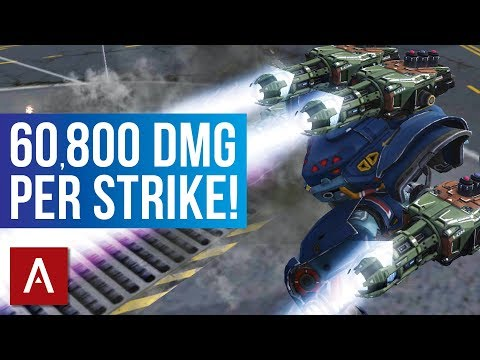 War Robots: Spectre Ion MK2 Gameplay | 60,800 DAMAGE PER STRIKE!