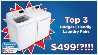 Top 3 Cheap Top Load Washers of 2020!