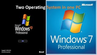 Dual Operating System || Two OS in One Computer || Double Operating System in One Computer