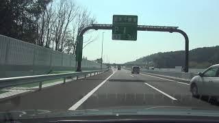 新名神高速道路高槻IC~神戸JCT2018.3.27