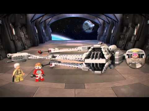 Vidéo LEGO Star Wars 75050 : B-Wing