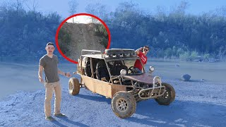 Dune Buggy CLIFF Climb! (COPS CALLED)