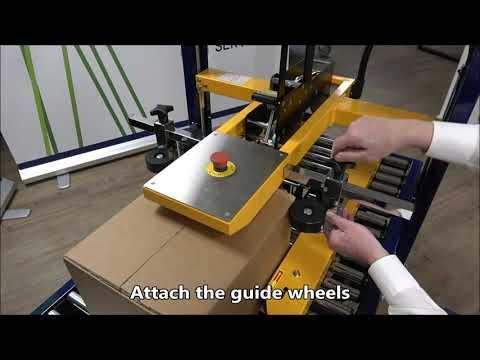 CT 103 SD: Setting box dimensions