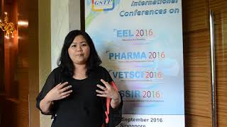 Ms. Siew Lee Chang at EeL Conference 2016 by GSTF