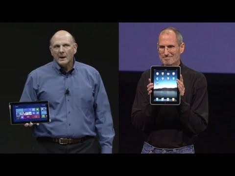 Surface v/s iPad: Microsoft getting rusty stealing from Apple