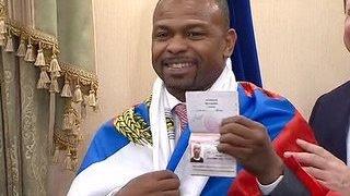 Ближайший поединок Рой Джонс проведет как российский гражданин