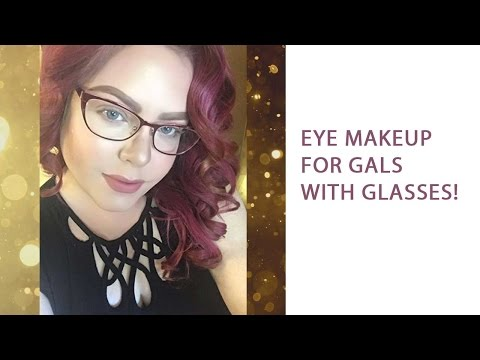 Easy makeup for women that wear glasses