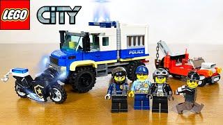 LEGO City 2021 Police Prisoner Transport 60276 Set - Speed Build & Review