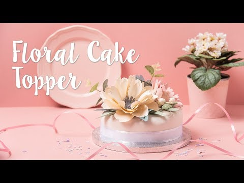 Easy DIY Wedding Cake Topper with Yasmin Rowlands