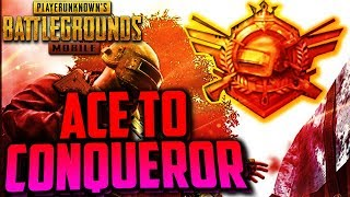PUBG MOBILE | ACE to CONQUEROR | AIRDROP HUNTING :) Only Chicken Dinner..... Lets Go Boyzz 😍