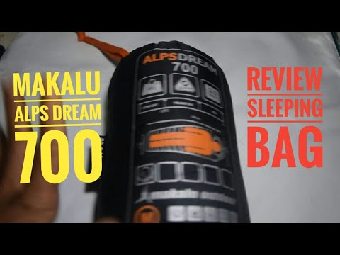 Review Sleeping bag Ultra light Makalu 700 buatan indonesia