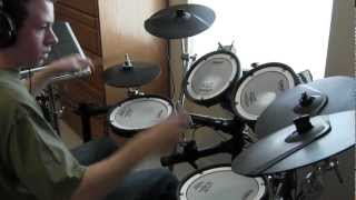 Fates Warning - Pieces of Me - Drum Cover (Tony Parsons)