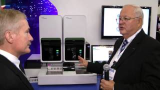 XN-2000 Hematology Analyzer display in Sysmex booth at AACC 2013