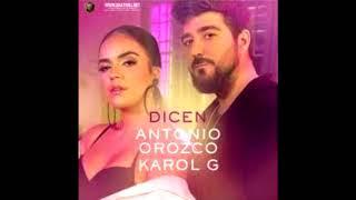 Antonio Orozco, Karol G - Dicen  Rumbaton-edit-    Mula Deejay Rmx
