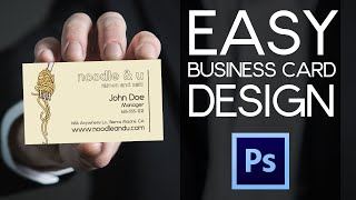 Give Me Signs Business Card tutorial