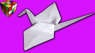 Как сделать ЖУРАВЛИКА из бумаги. Журавлик оригами своими руками. Поделки из бумаги