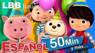 ¡Cumpleaños feliz! | Y muchas más canciones infantiles | LBB Junior
