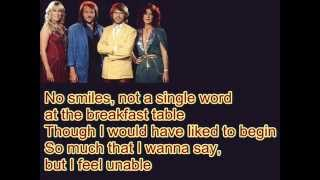 ABBA-One Man,One Woman (Lyrics)