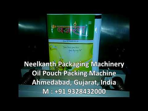 Automatic Edible Oil Pouch Packing Machine