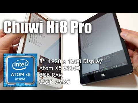 Chuwi Hi8 Pro Unboxing & Screen Vs Vi8 Plus