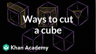 Ways To Cut A Cube