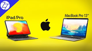 iPad Pro vs MacBook Pro 13 (2020) - Which One's the REAL Laptop?
