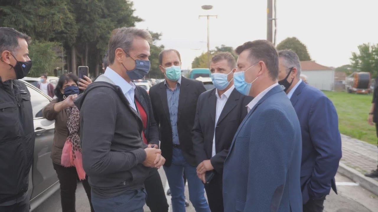 Επίσκεψη του πρωθυπουργού Κυριάκου Μητσοτάκη στην Αλεξανδρούπολη