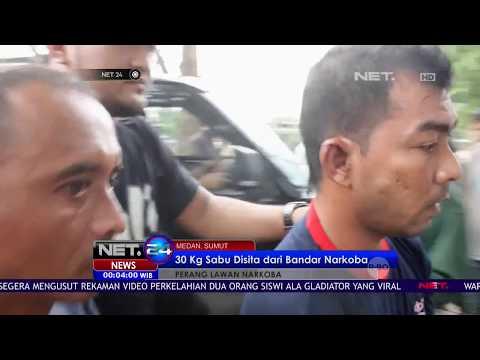 30 Kg Sabu Disita Dari Bandar Narkoba Di Medan -NET24