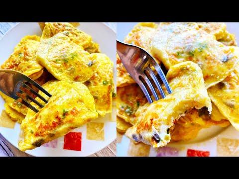 Breakfast Egg Dumplings Recipe